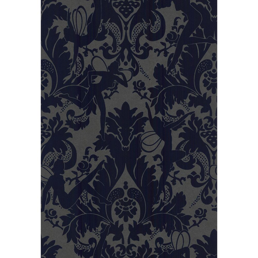Marcel Wanders Forest Muses in Blue Wallpaper