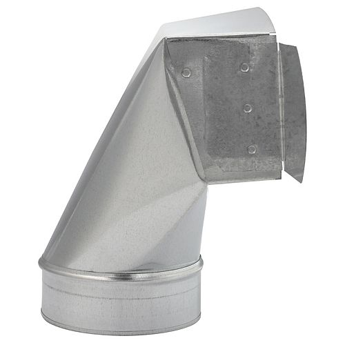 Imperial 4x10x5 Inch Ceiling Boot 90 Degree
