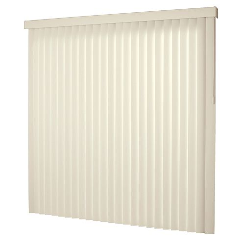 78x84 Alabaster 3.5 in. Vertical Blind Kit (Actual width 78 in.)