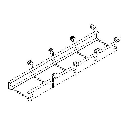 10 ft. Boat Roller Extension with Single Rollers