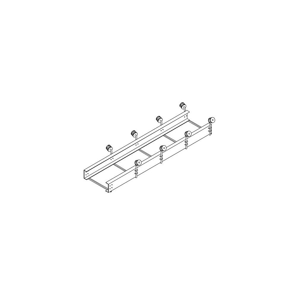 Fendock 10 Feet Boat Roller Extension  Double Rollers
