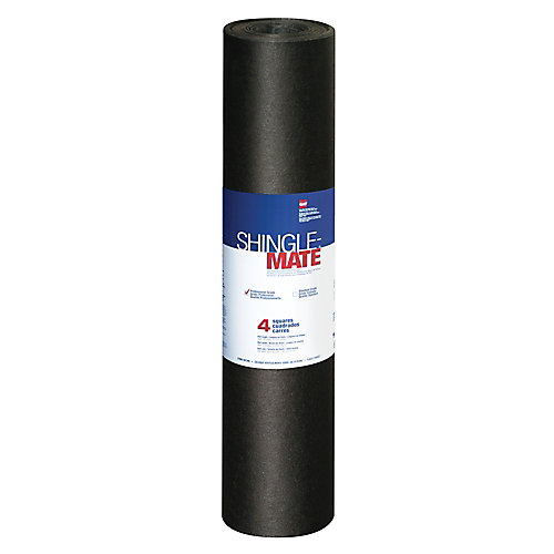 Sous-couche de protection du tablier de toiture Shingle-Mate 4 pi2 (432 pi2)