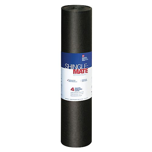 Shingle-Mate 4 sq. (432 sq. ft.) Fiberglass-Reinforced Roofing Underlayment Roll