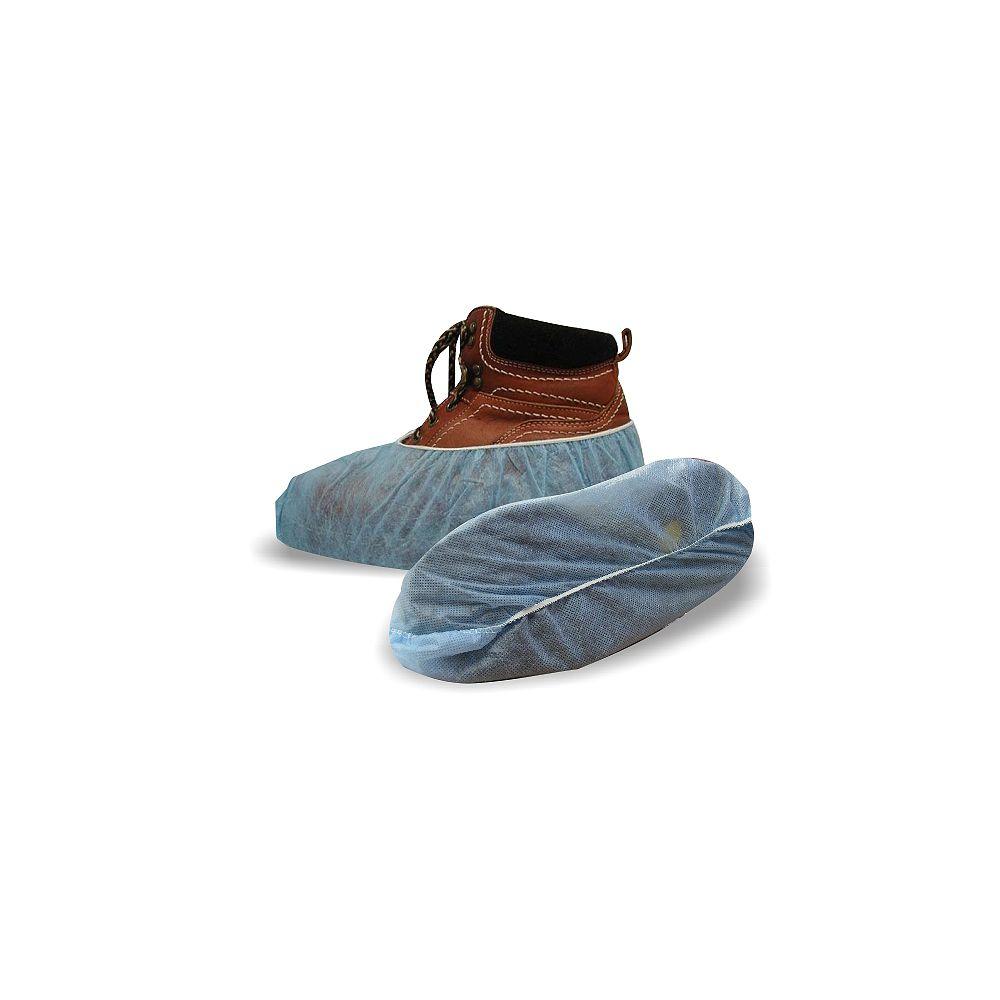 Workhorse Couvres-chaussure en polypropyléne bleu 3/Pr