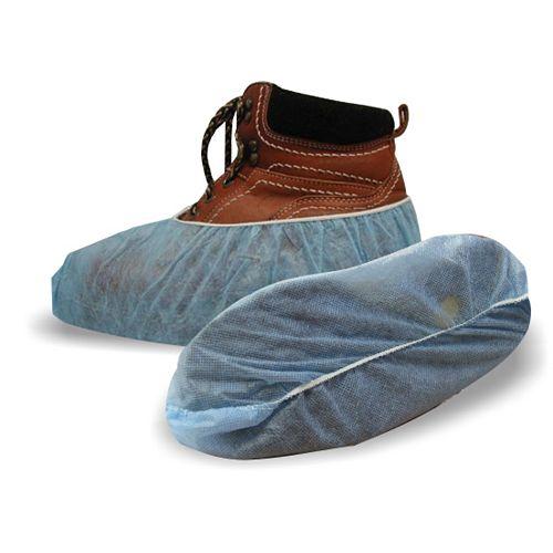 Couvres-chaussure en polypropyléne bleu 3/Pr