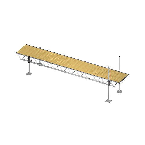 24 ft. x 4 ft. Modular Truss Dock