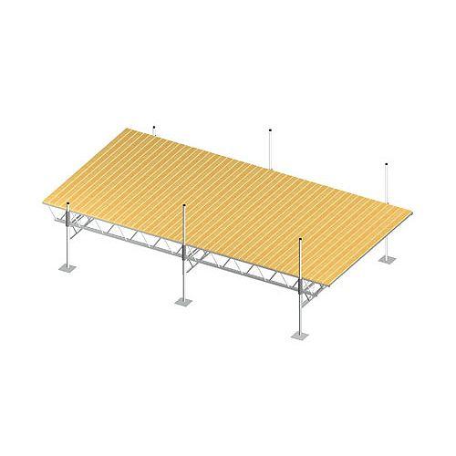 Fendock Quai modulaire à armature de 24pi x 12pi