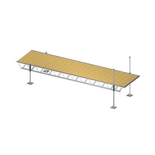 6 ft. x 24 ft. Modular Truss Dock