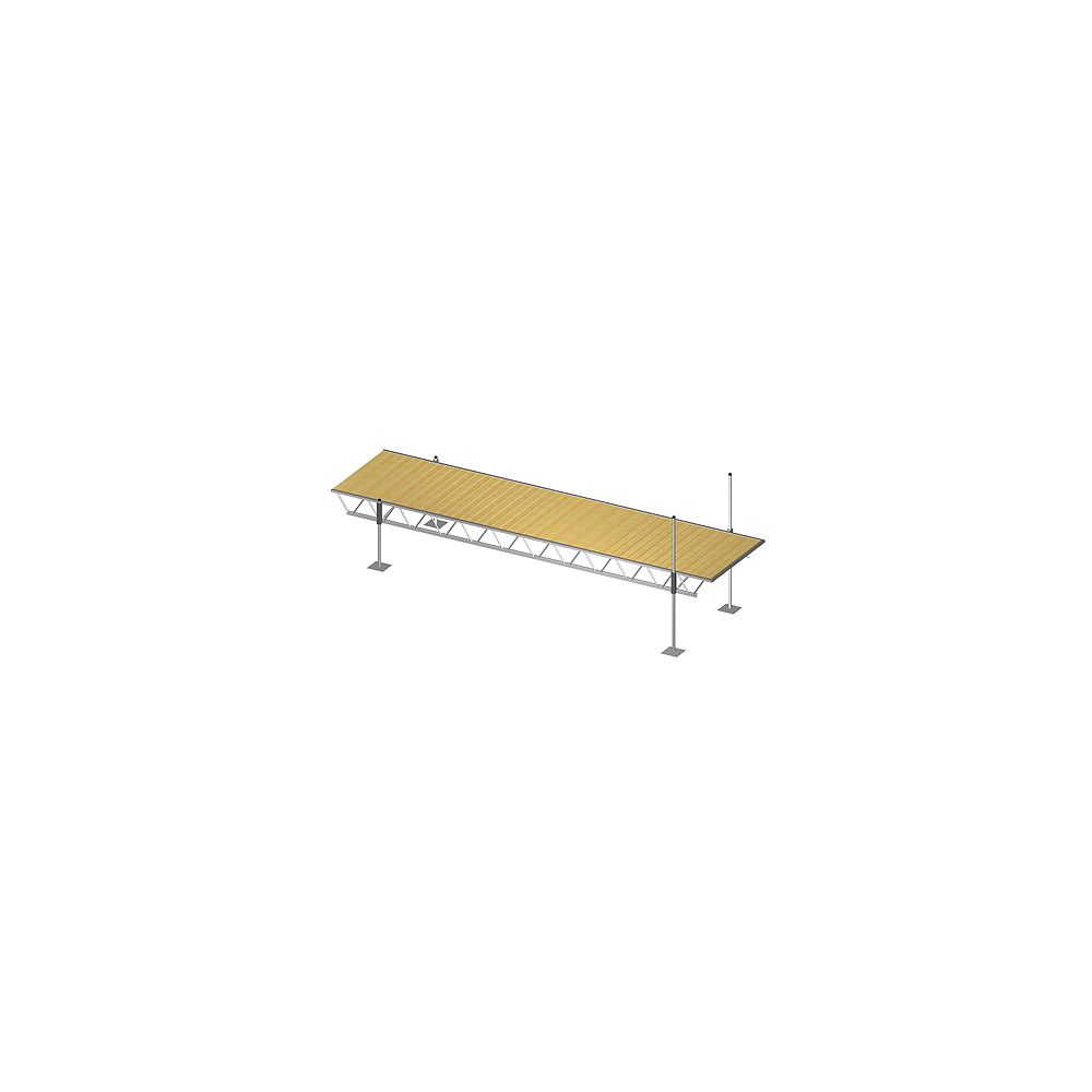 Fendock 6 ft. x 24 ft. Modular Truss Dock