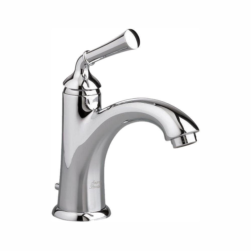 American Standard Portsmouth Single-Handle Mid-Arc Bathroom Faucet with Speed Connect Drain in Polished Chrome