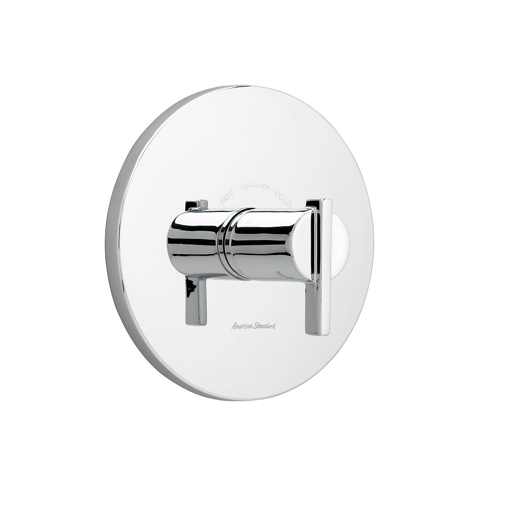 American Standard Berwick 1-Handle Central Thermostat Valve Trim Kit in Polished Chrome with Lever Handle (Valve Not Included)