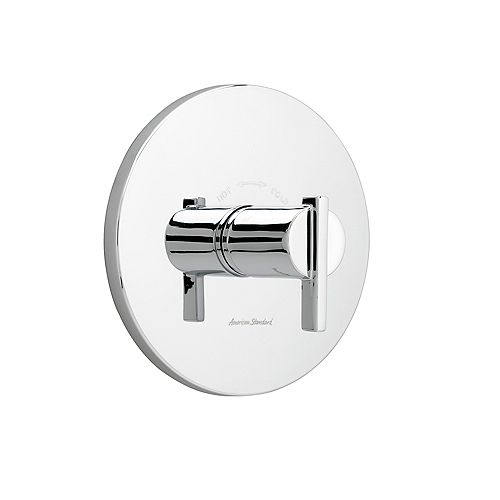Berwick 1-Handle Central Thermostat Valve Trim Kit in Polished Chrome with Lever Handle (Valve Not Included)
