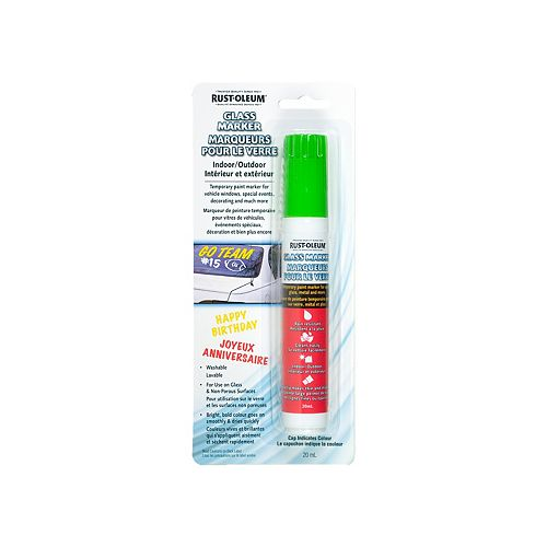 Specialty Glass Markers - Green