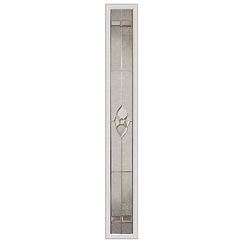 Nouveau 8-inch x 64-inch Sidelight Brass Caming with HP Frame
