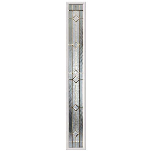Majestic 8-inch x 64-inch Sidelight Brass Caming with HP Frame