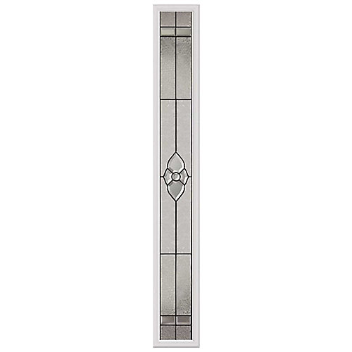 Nouveau 8-inch x 64-inch Sidelight Patina Caming with HP Frame