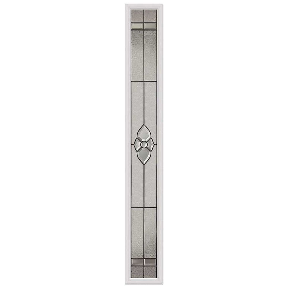 ODL Nouveau 7-inch x 64-inch Sidelight Patina Caming with HP Frame