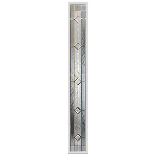 Majestic 7-inch x 64-inch Sidelight Brass Caming with HP Frame