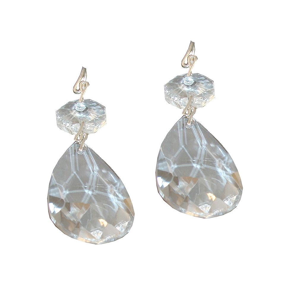 Atron Crystal Prisms - 1 1/2 Inch (3.8 cm) (2-Piece)