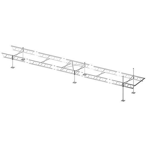 Quai modulaire à armature de 40pi x 6pi