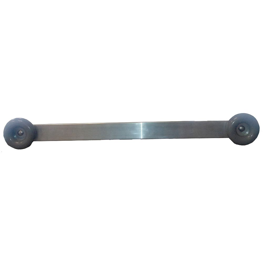 Fendock 4 ft. Angle End Brace with Donut Bumpers