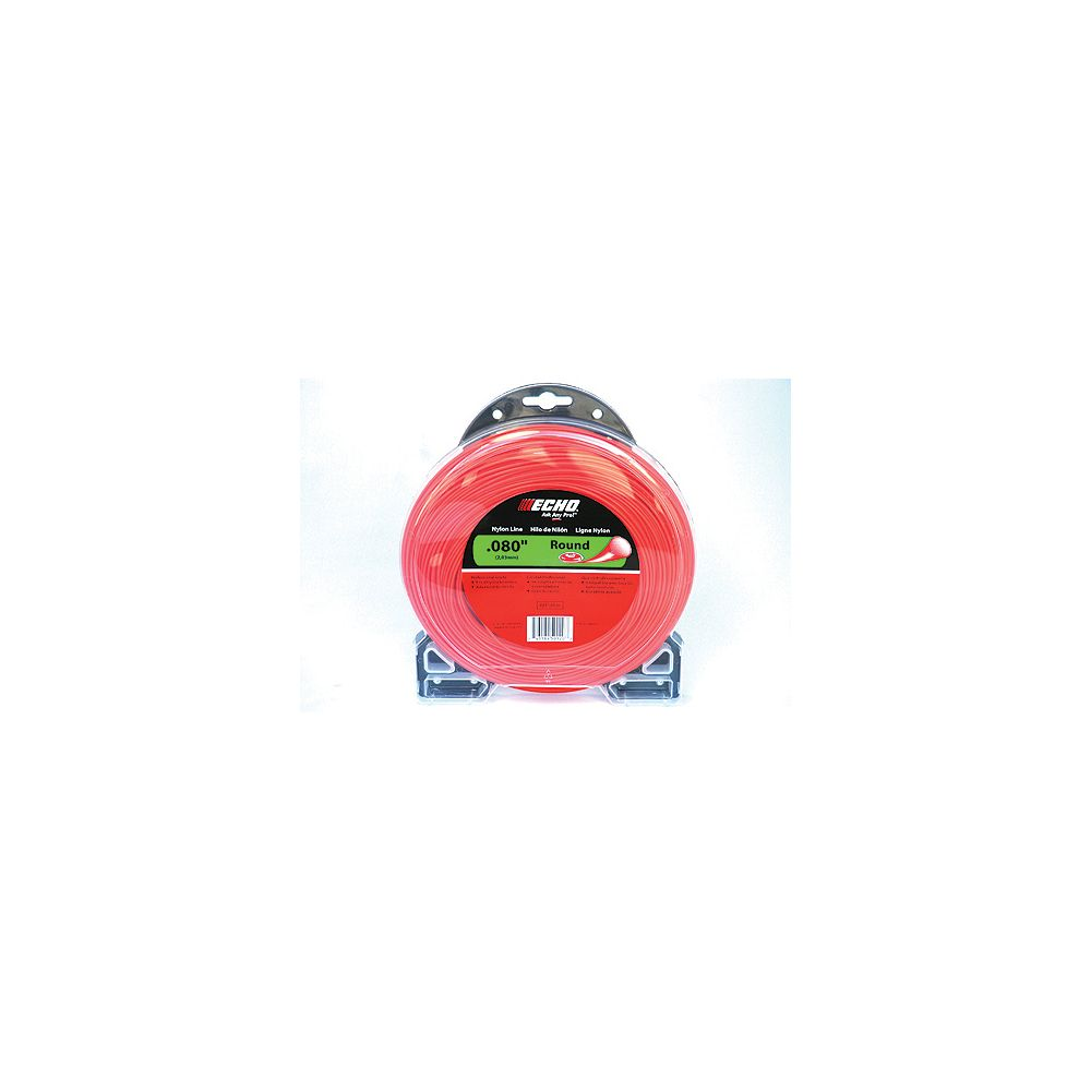 ECHO .095 Crossfire Line for String Trimmers 1/2 Lb. Donut for String Trimmers