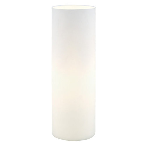 Geo Table Lamp, White Opal Glass