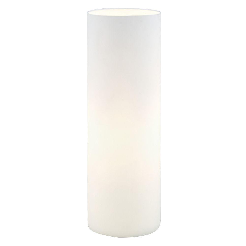 Eglo Geo Lampe de Table, Verre Blanc Opaque