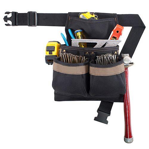 5-Pocket Framers Nail & Tool Bag with Poly Web Belt