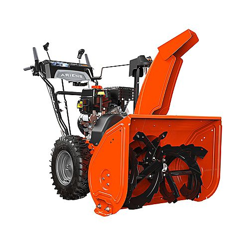Deluxe 28-Inch, 2-Stage, 120V Electric Start Snowblower with 254cc Ariens AX Engine