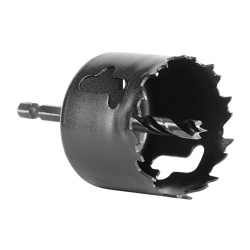 2-1/8 -Inch Carbon Hole Saw