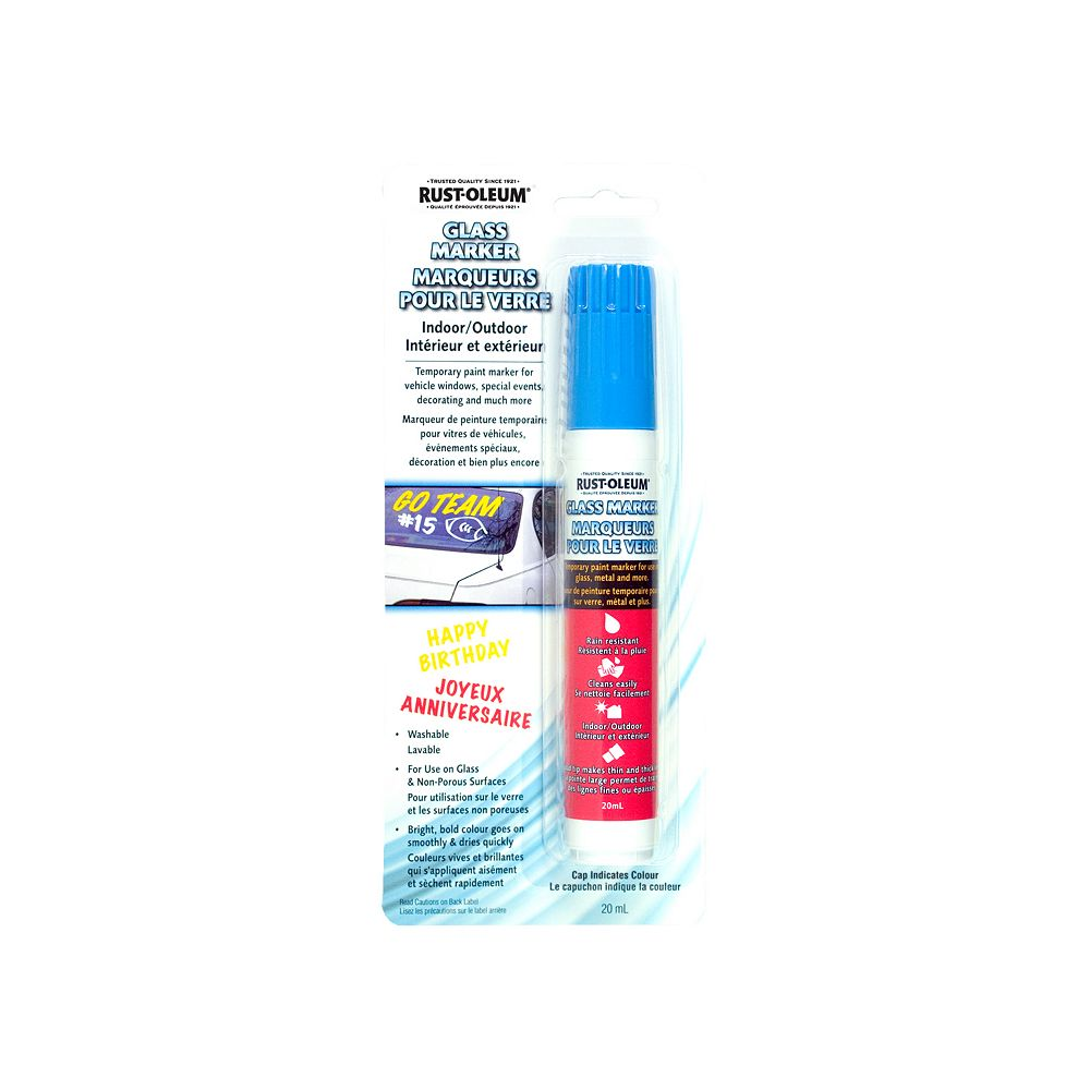 Rust-Oleum Specialty Glass Markers - Blue