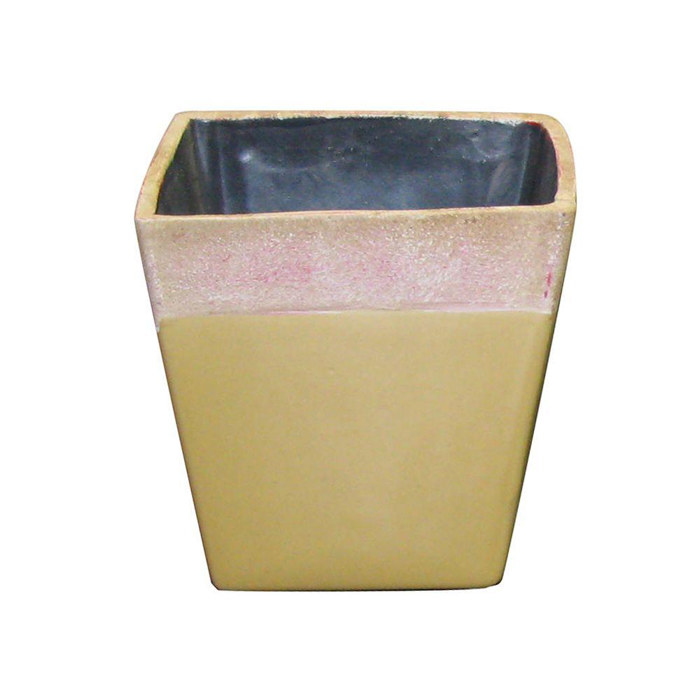 Grapevine Ceramic Taper Pot - 5.25 Inch x 5 Inch