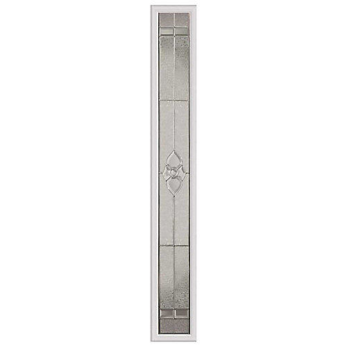 Nouveau 8-inch x 64-inch Sidelight Nickel Caming with HP Frame