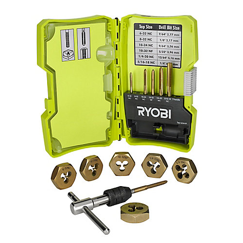 Tap & Die Set (13-Piece)