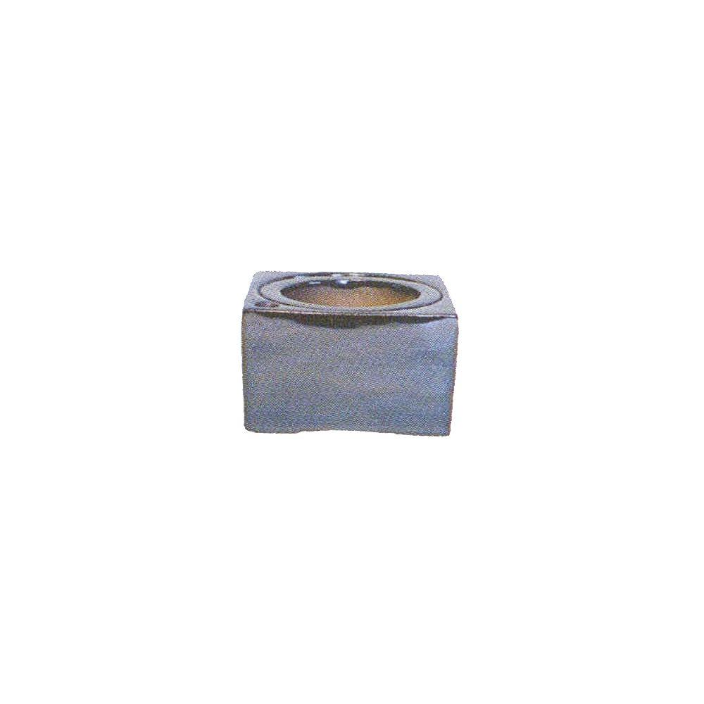 Grapevine Square Self Watering Pot - 6 Inches