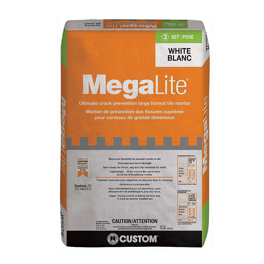 Custom Building Products MegaLite Crack Prevention Mortar 15 lb. (6.804 kg.)
