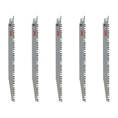 9-inch 5 TPI Pruning SAWZALL Reciprocating Saw Blades (5 Pack)
