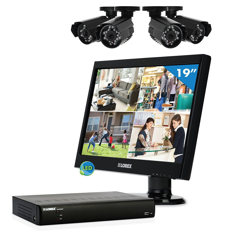 LOREX Vantage LH01846L19FMX ECO Blackbox Complete Surveillance Solution