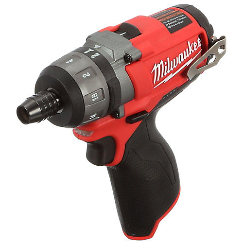 M12 FUEL 12V Lithium-Ion Brushless Cordless 1/4 -Inch Hex 2-Speed Screwdriver (Tool-Only)
