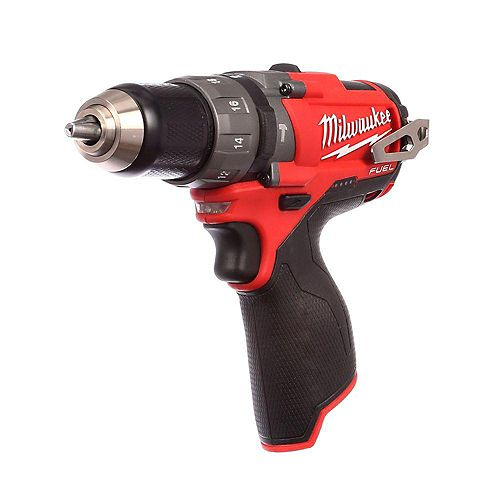 M12 FUEL 12V Lithium-Ion Brushless Cordless 1/2-inch Hammer Drill and Driver (Tool Only)