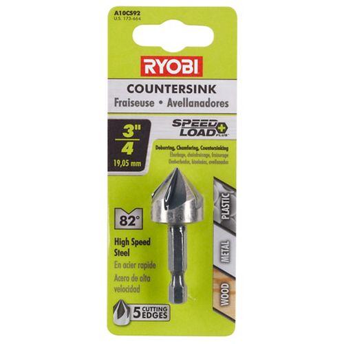 RYOBI FRAISE DE 19,1 MM (3/4 PO)