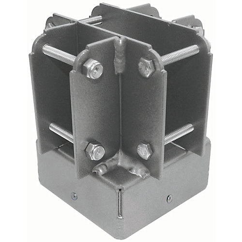 4 inch x 4 inch Aluminum Post Top Connector