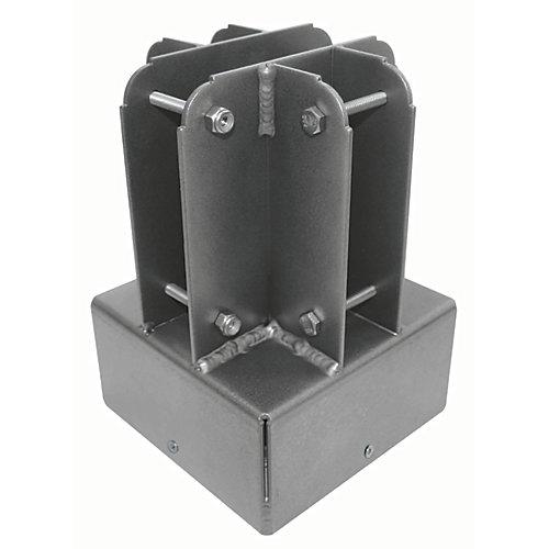 Connecteur supérieur de poteau de 6pox6po de Yardistry