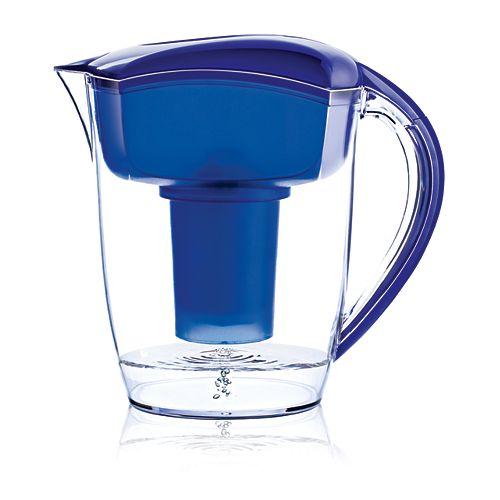 Pichet d'eau Alcaline Bleu