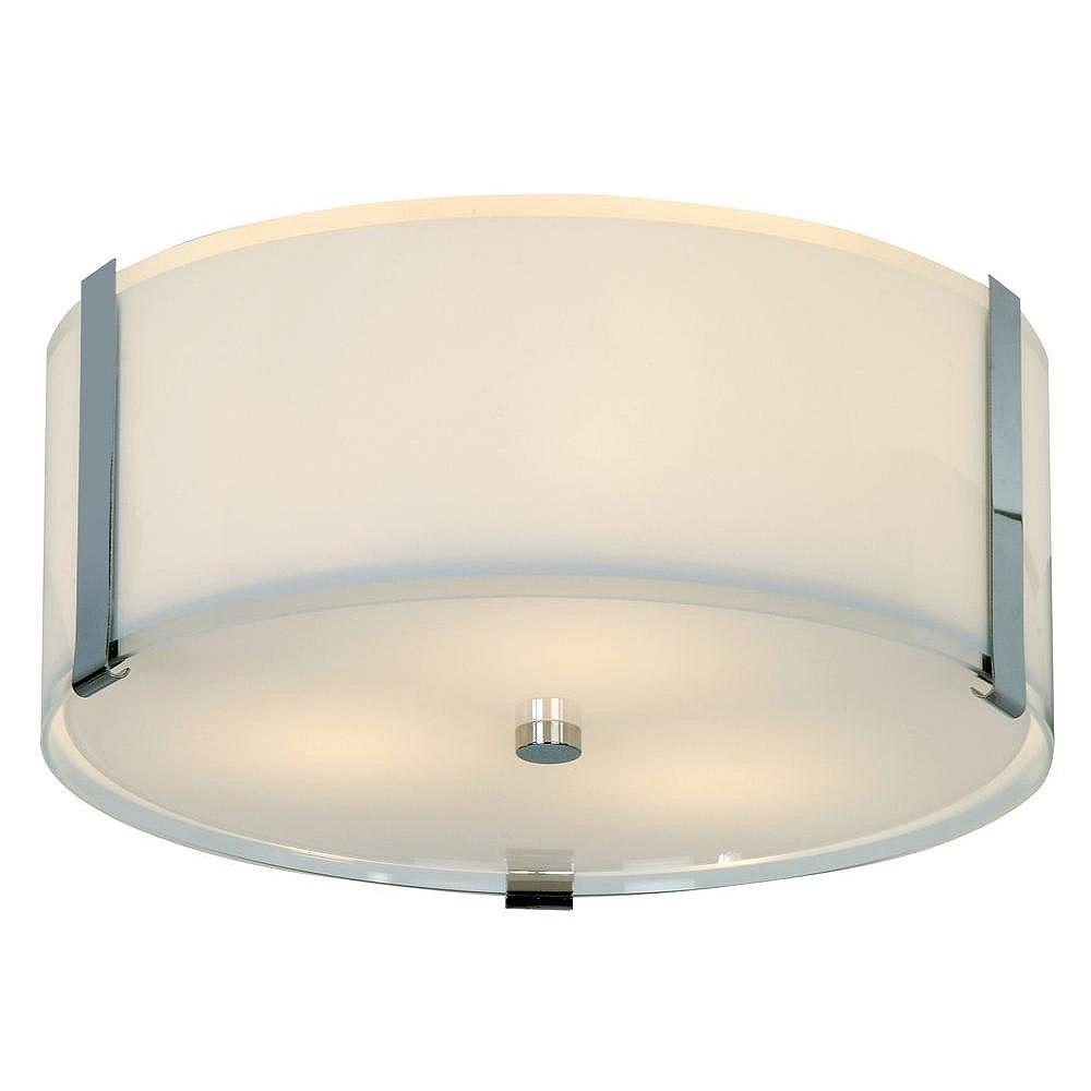 Trend Lighting 3 Light Ceiling Pearl Incandescent Flush Mount