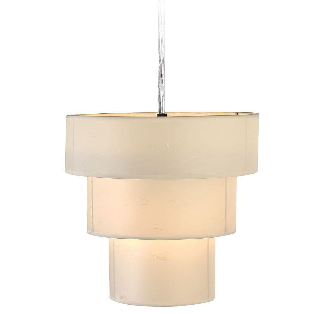 Trend Lighting 1 Light Ceiling Brushed Nickel Incandescent Pendant