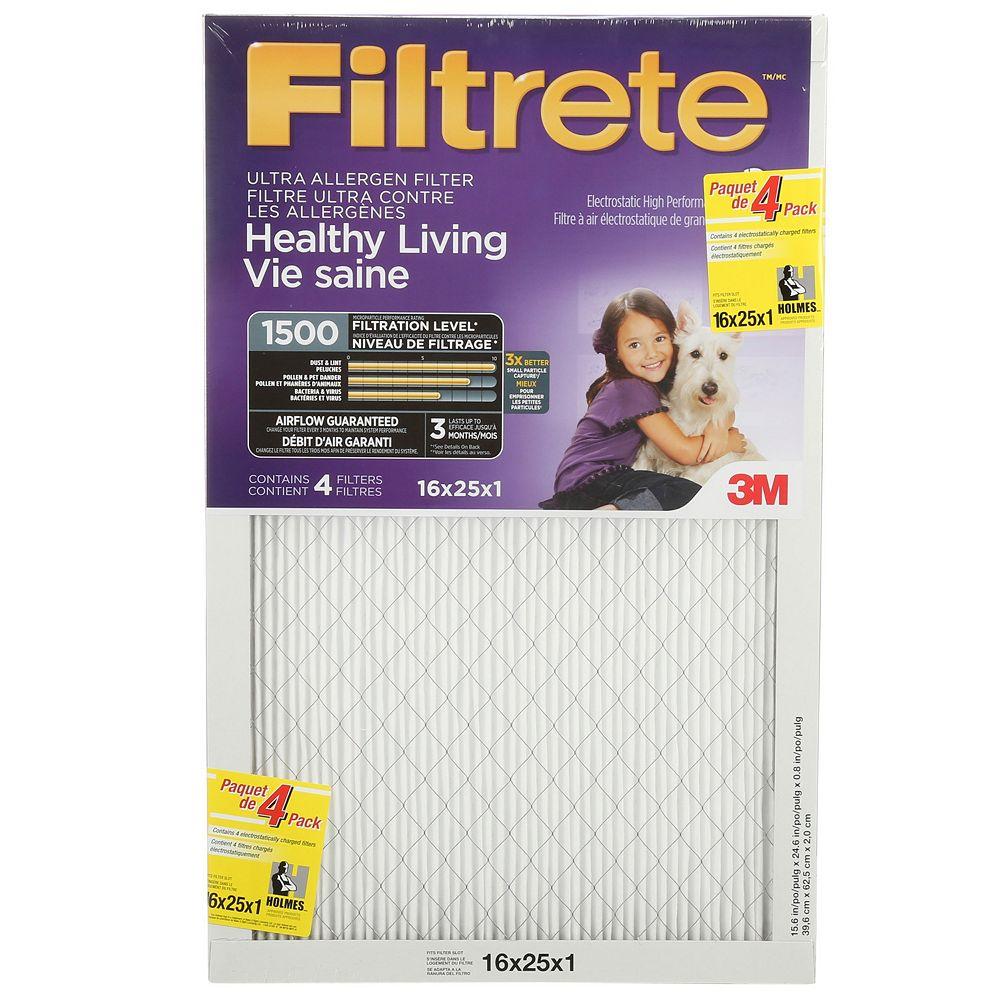 Filtrete Filtrete(R) Airborne Microparticle Reduction Filter,16x25x1