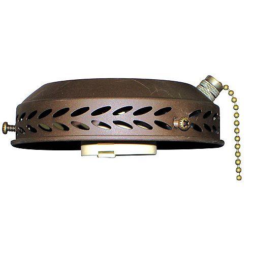 Accessoires d'éclairage avec style couleur en bronze