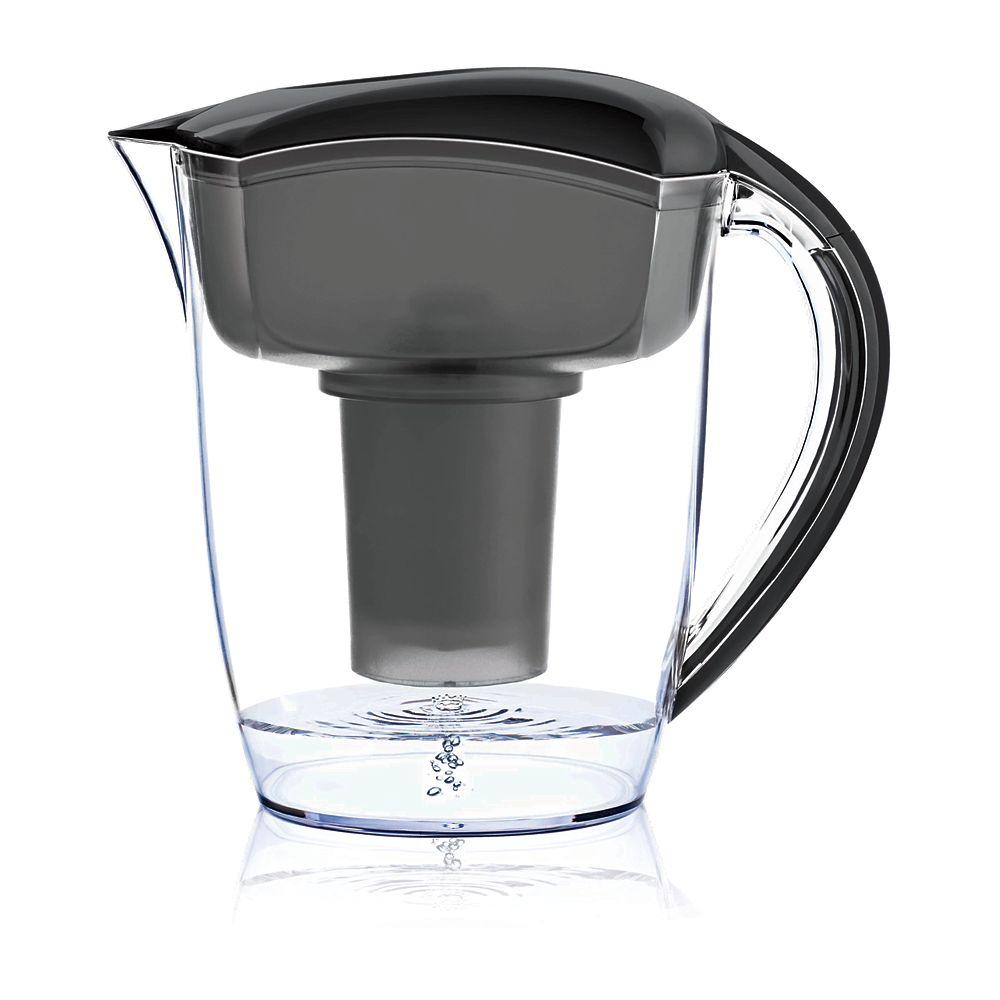 Santevia Black Alkaline Water Pitcher